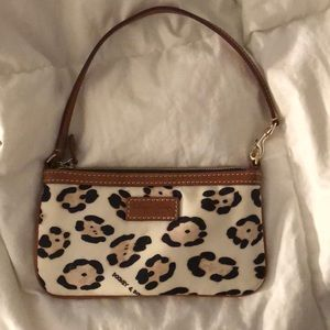 Small Dooney & Bourke Leopard Wristlet